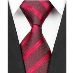 Hodvábna kravata červená NT0068