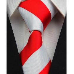Hodvábna kravata červená NT0092