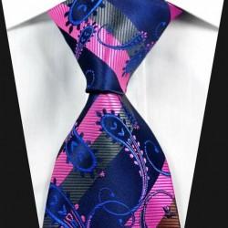 Hodvábna kravata modrá NT0321