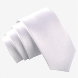 Úzka SLIM kravata svetlo šedá