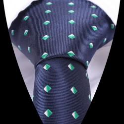Hodvábna kravata modrá LD0522