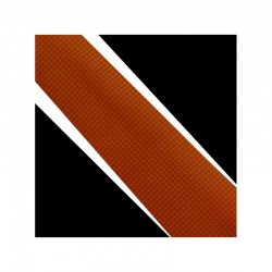 Hodvábná kravata oranžova