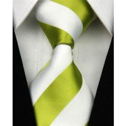 Hodvábna kravata zelená NT0089