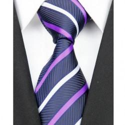 Hodvábna kravata modrá NT0135