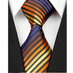 Hodvábna kravata viacfarebná NT0040