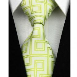 Hodvábna kravata zelená NT0015