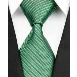 Hodvábna kravata zelená NT0097