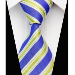 Hodvábna kravata modrá NT0573