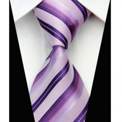 Hedvábná kravata růžová NT0520