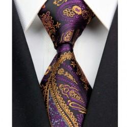 Kašmírová hedvábná kravata černá NT0359