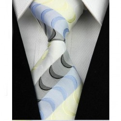 Hedvábná kravata se vzorem NT0006