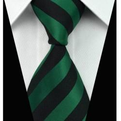 Hedvábná kravata pruhovaná NT0017