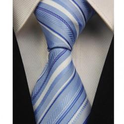 Hodvábna kravata modrá NT0023