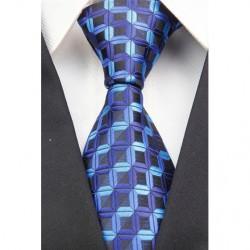 Hodvábna kravata modrá NT0025