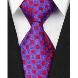 Hodvábna kravata modrá NT0056