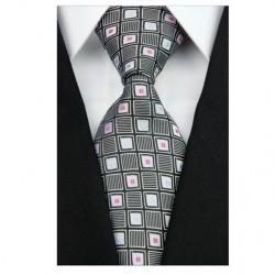 Hodvábna kravata čierna NT0202