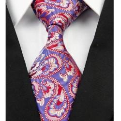 Hodvábna kravata modrá NT0217