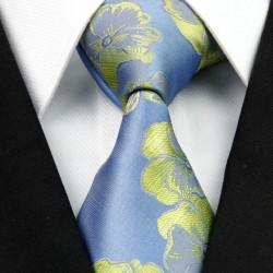 Hodvábna kravata modrá NT0265