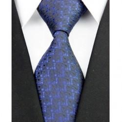 Hodvábna kravata čierna NT0196