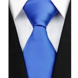 Hodvábna kravata modrá NT0208