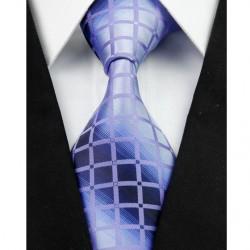 Hodvábna kravata fialová NT0257