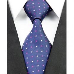 Hodvábna kravata modrá NT0225