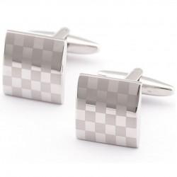 Manžetové gonbiky se vzorem šachovnice 930002