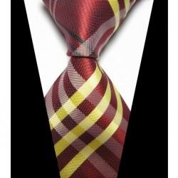 Hodvábna kravata červená NT0421