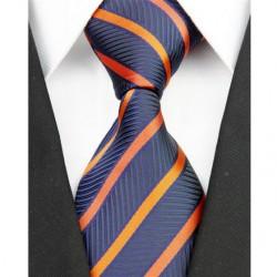 Hodvábna kravata modrá NT0209