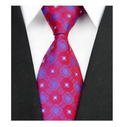 Hodvábna kravata červená NT0091