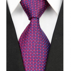 Hodvábna kravata červená NT0094
