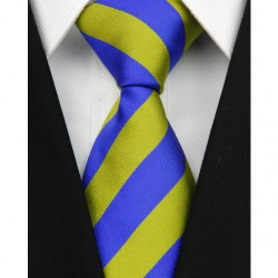 Hodvábna kravata pruhovaná NT0080