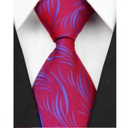 Hodvábna kravata červená NT0085