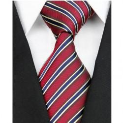 Hodvábna kravata červená NT0118