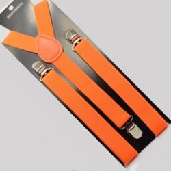 Moderné traky oranžové