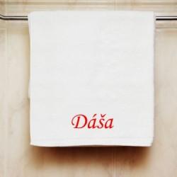 Ručník se jménem Dáša