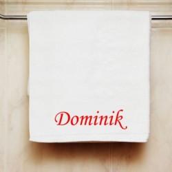Ručník se jménem Dominik