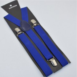 Moderné traky modré