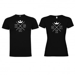Tričko pro páry King a Queen