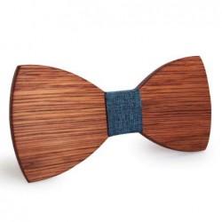 Mahoosive Dřevěný motýlek hnědý Babak