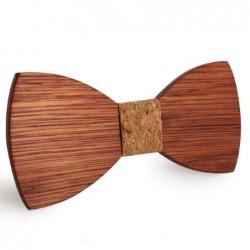 Mahoosive Dřevěný motýlek hnědý Brooks