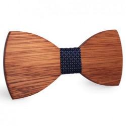 Mahoosive Dřevěný motýlek hnědý Bian