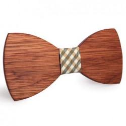 Mahoosive Dřevěný motýlek hnědý Bryant