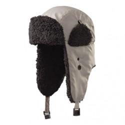 Beranice zimní čepice ušanka šedá