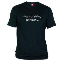 Tričko Jsem ateista, díky bohu pánské