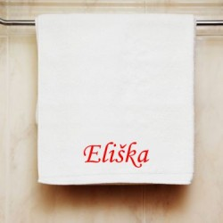 Ručník se jménem Eliška