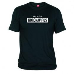 Tričko Koronavirus pánské