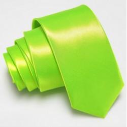 Úzka SLIM kravata zelená